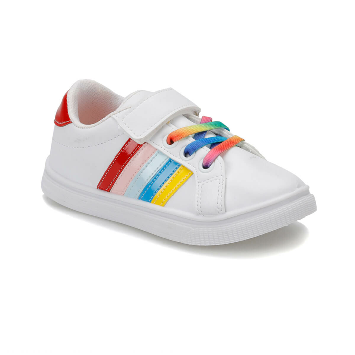 FLO FUNNY F White Female Child Sneaker Shoes I-Cool