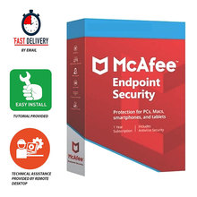 McAfee Endpoint Security 2021 ✅ Life Time Licence | PC |