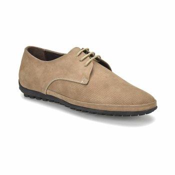 FLO 102 M 6688 kolor piaskowy męskie klasyczne buty Flogart tanie i dobre opinie Sztuczna skóra