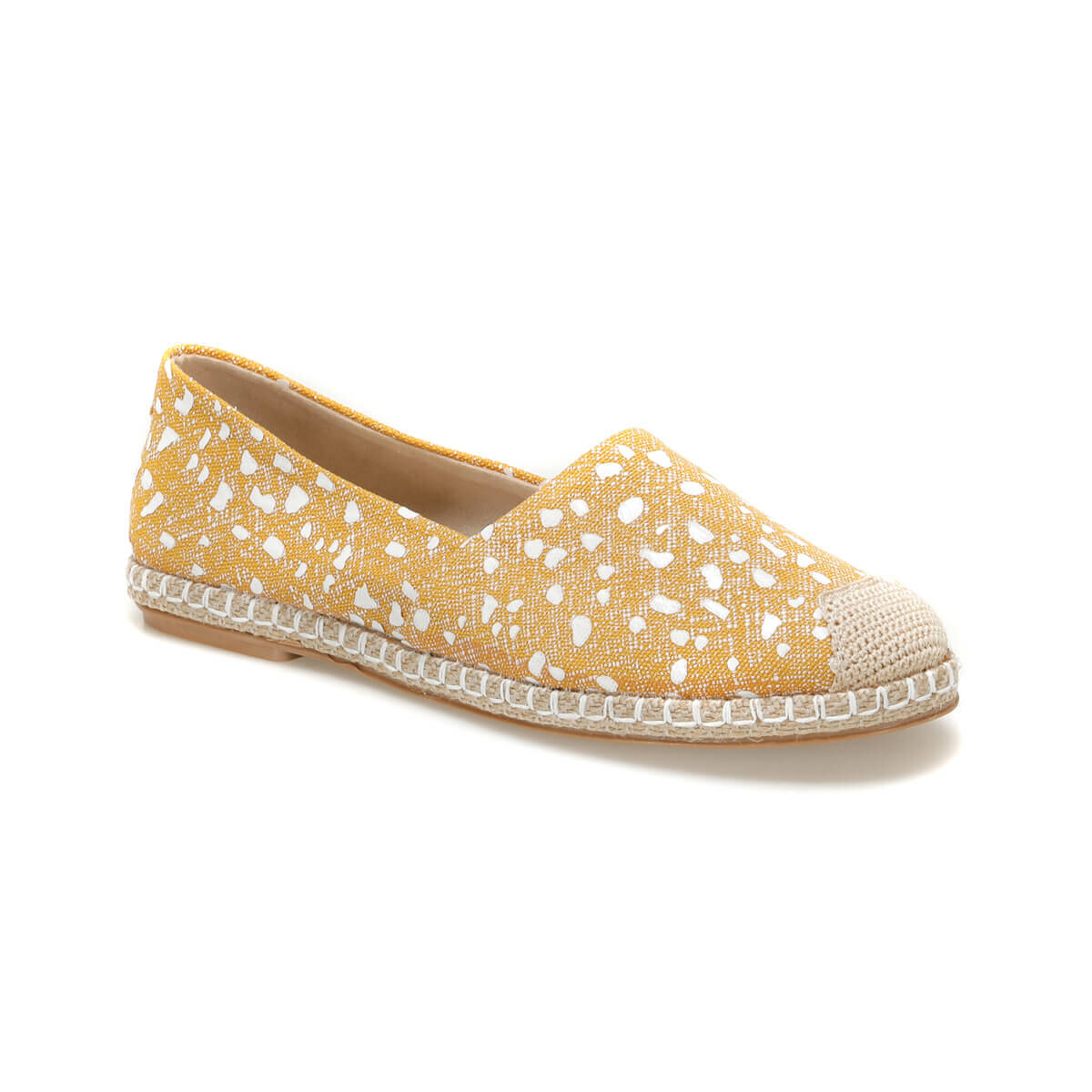 FLO MIROS51Z Yellow Women Espadril Shoes BUTIGO