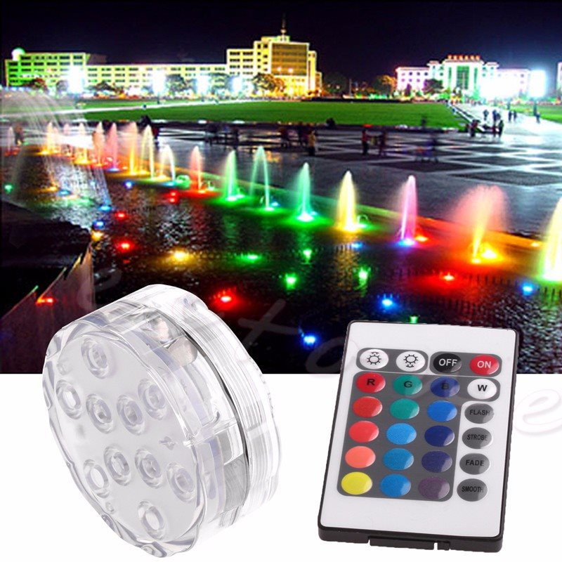 Işıklar ve Aydınlatma'ten Gece Lambaları'de Operated Underwater Color changing LED Lamp title=
