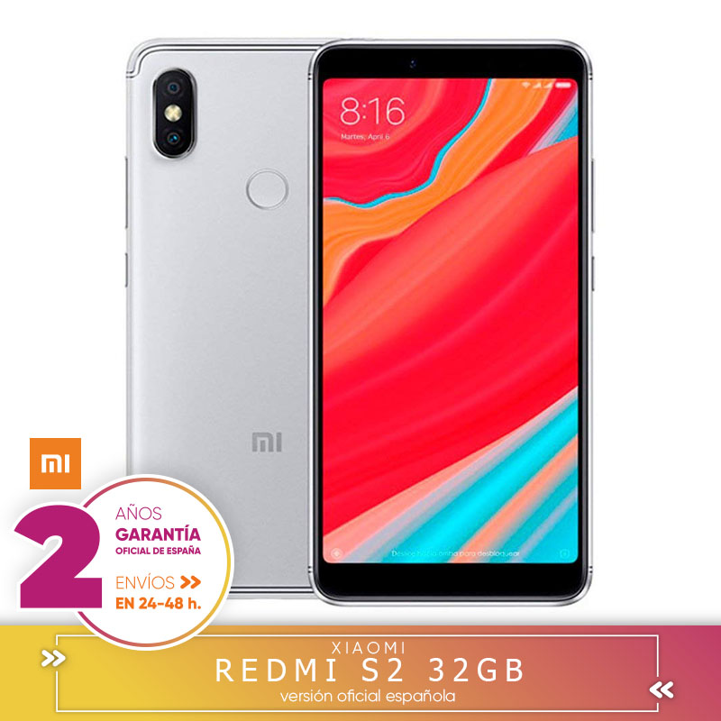 [Official Spanish Version Warranty] Xiaomi Redmi S2 EU-Smartphone 5.99