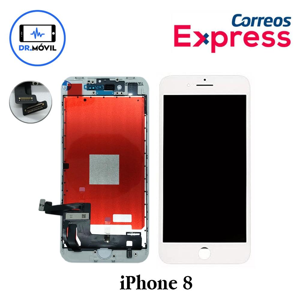 Iphone Screen 7 Black Black Quality Original Apple Retina Display, Shipping From Spain Express