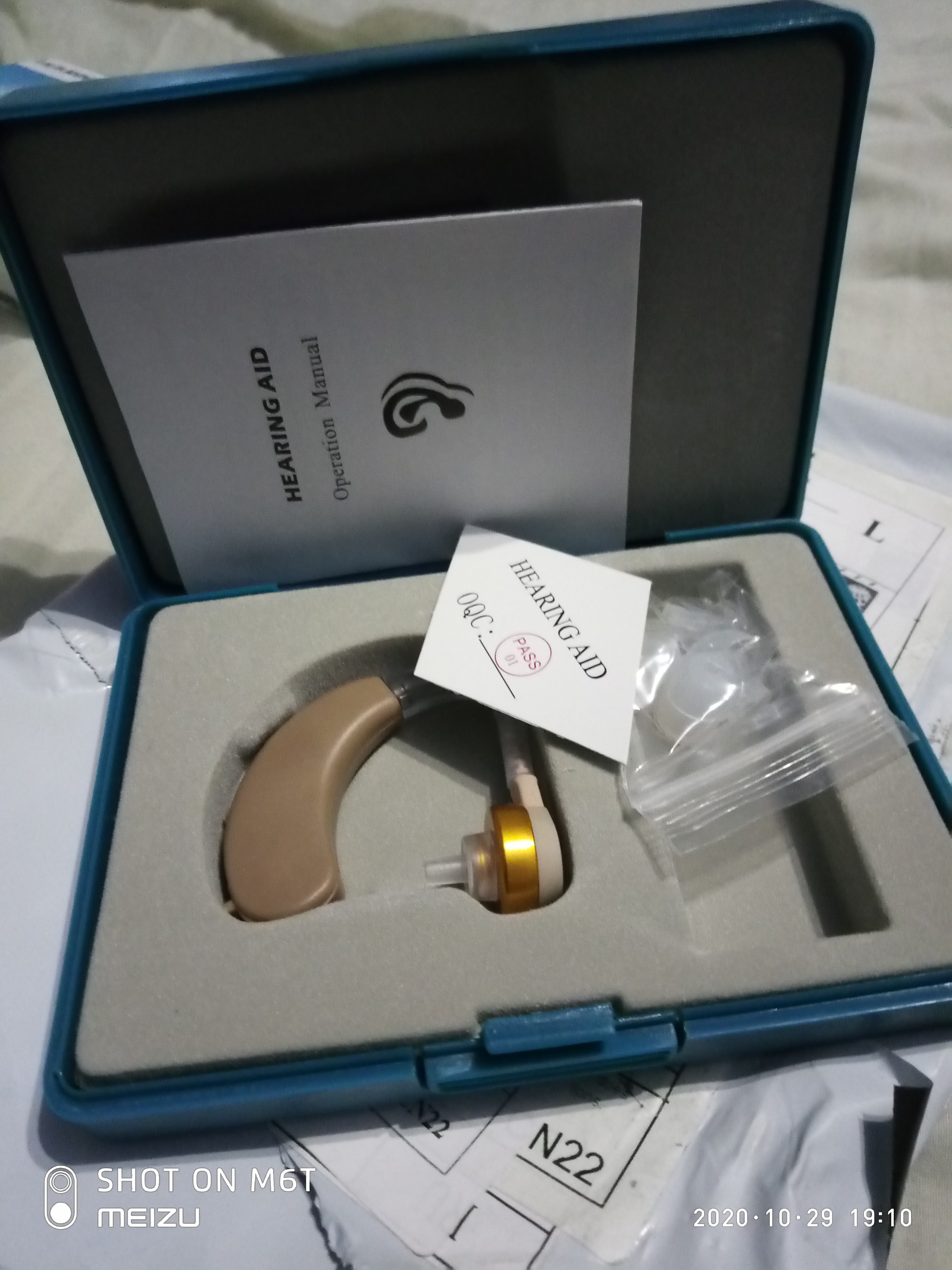 JH-117 Analog BTE Hearing Aid / Hearing Amplifier photo review