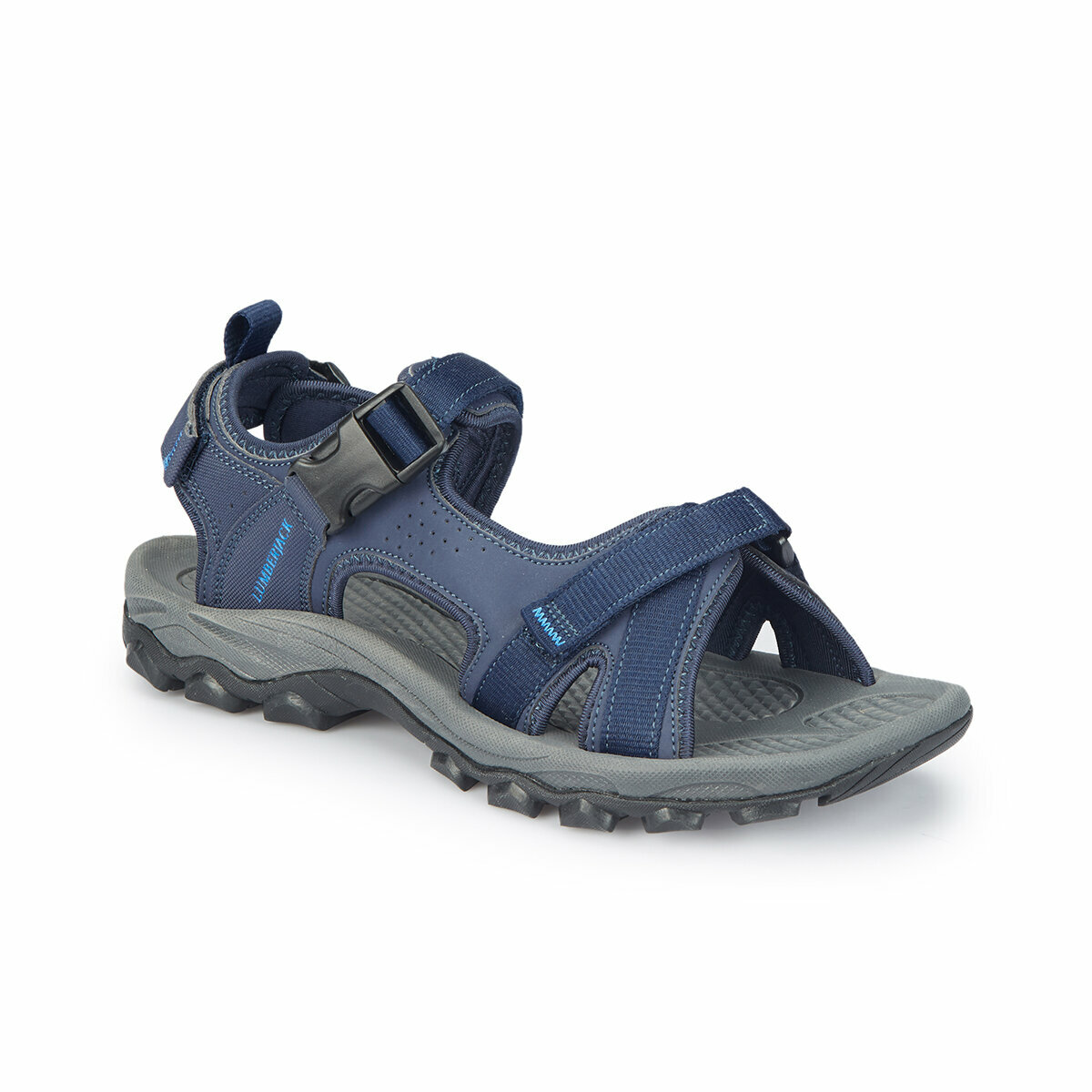 FLO LAGGUN Navy Blue Male Sandals LUMBERJACK