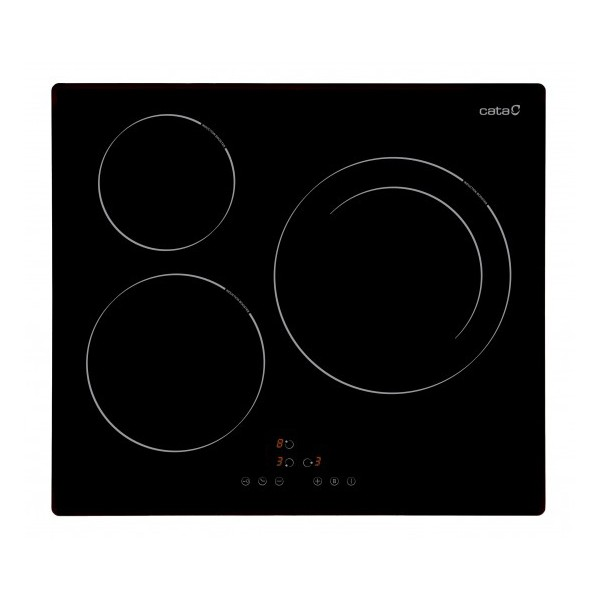 Induction Hot Plate Cata IB6303BK 59 Cm (3 Cooking Areas)
