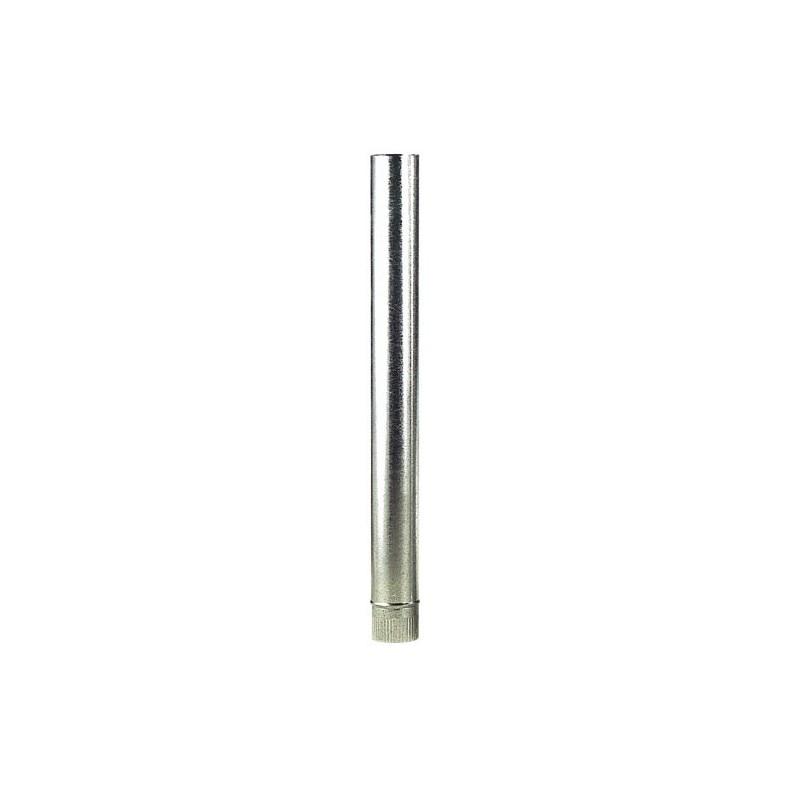 Tube Stove Galvanized 130mm.