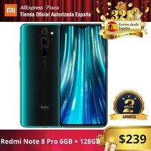 Redmi Note 8 Pro (128GB ROM con 6GB RAM, C疥ara de 64 MP, Android, Nuevo, Mil) [Tel馭ono Mil Versi Global para Espa]