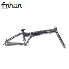 "Fnhon horquilla de marco para bicicleta de aluminio plegable, 20 "", 406, 451, freno de disco V, conjunto de freno, 22 pulgadas"