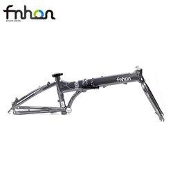 Fnhon püskürtme alüminyum katlanır bisiklet iskeleti çatal 20