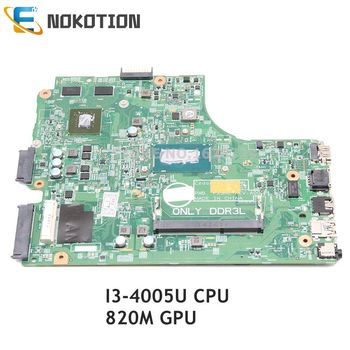 NOKOTION For Dell Inspiron 3542 laptop motherboard 13269-1 FX3MC CN-0NG8CD 0NG8CD NG8CD I3-4005U CPU 820M GPU DDR3L