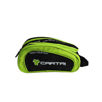 CARTRI cosmetic bag paddle COOPER Black Green
