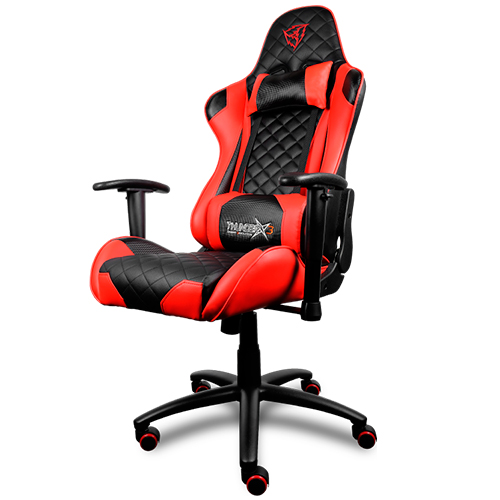Chair Gamer Pro Thunderx3 Tgc12br Color Black/Red Up Seat Recliner Rests Adjustable Arms Finish Piel Hidr Base
