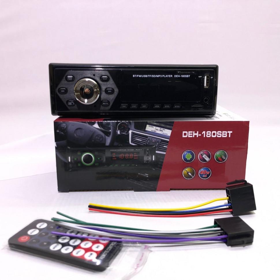 Radio Pioneer DEH-180SBT With AM / FM Radio, Bluetooth, Aux-In.