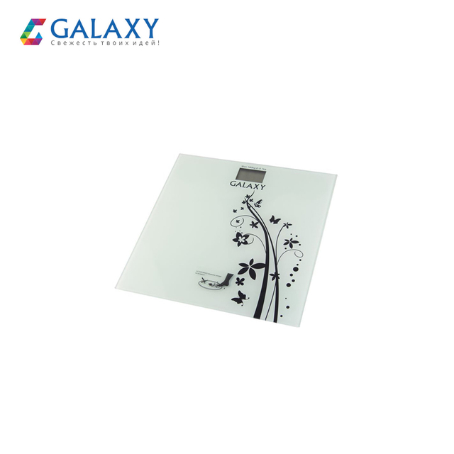 """Электронные напольные весы Galaxy GL 4800, максимально допустимый вес 180 кг, тип батареи """"CR2032"""" в комплекте"""