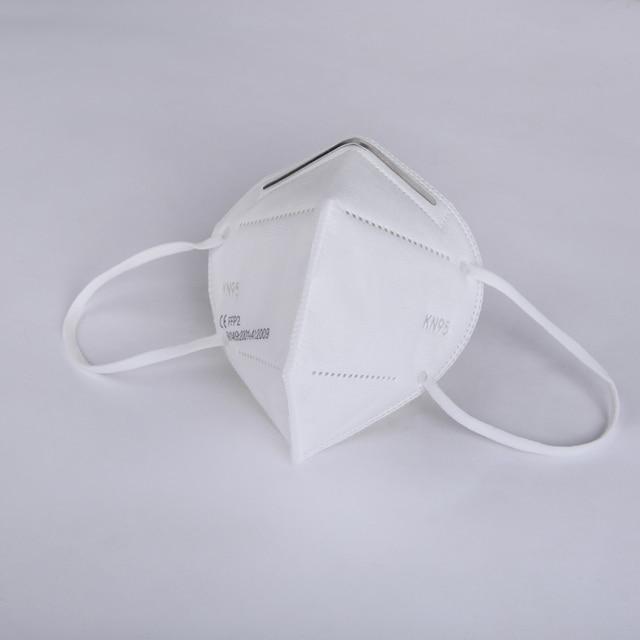 Fast Delivery Face Mask FFP2 Mask KN95 Dustproof KN95 masks Filter Filtration Protective Dust Mouth Mask 2