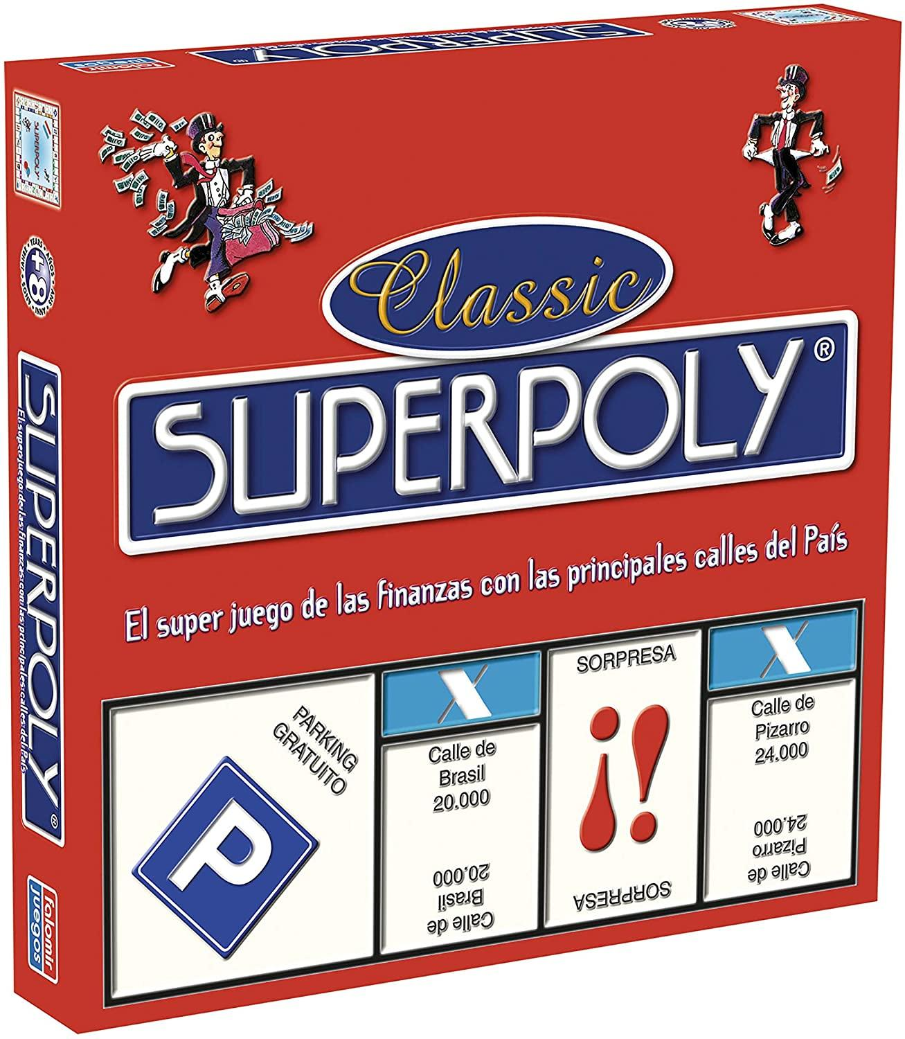 Falomir Superpoly, Juego De Table, Classic, Multicolored (646375)