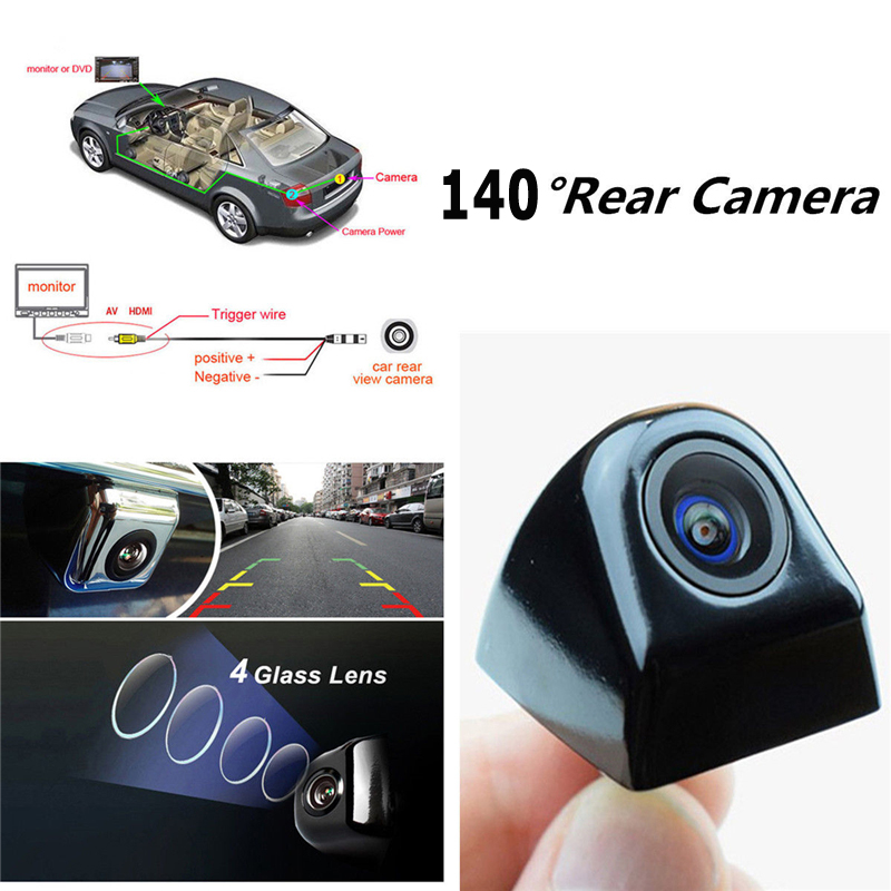 cheapest Night vision HD CCD Car frontview camera for Ford Edge 2015 2016 front view vehicle camera parking assistance waterproof