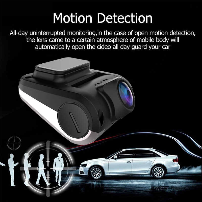 Coche DVR USB completo HD Mini coche Dash Cam 4K WIFI GPS 1080 cámara de lente soporte de tarjeta TF Coche grabadora de vídeo para cámara de vídeo Android