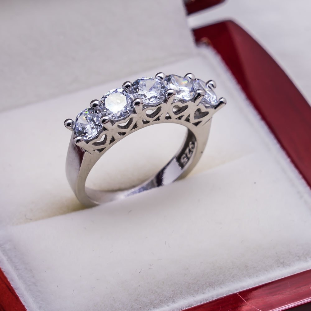 925 sterling Silver Dibs Lady Ring Model 15()