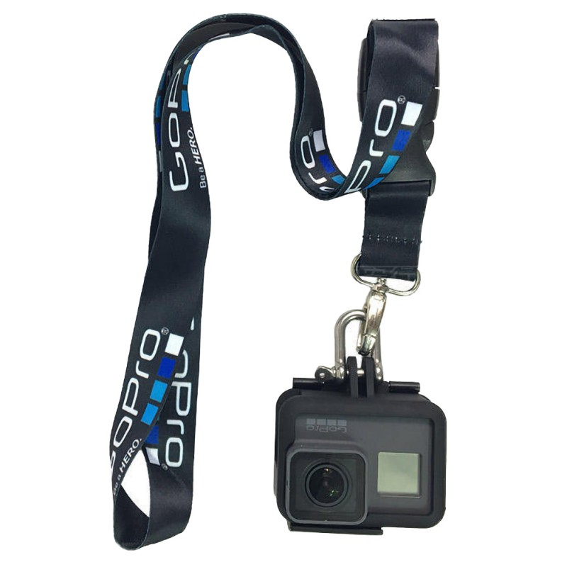 Съемный шейный ремешок, ремень с быстроразъемной пряжкой для GoPro Hero 9 8 7 6 5 DJI SJCAM EKEN, аксессуары для экшн-камеры