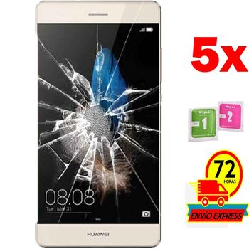 5x Protectors Screen Tempered Glass for for HUAWEI P8 LITE 2016 (Not Full SEE INFO)