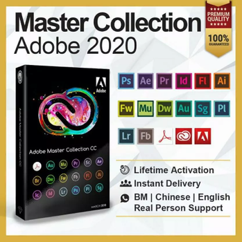 Adobe Creative Cloud 2020  Adobe Master Collection CC   Full Version   Lifetime Activation   ️Multilingual 