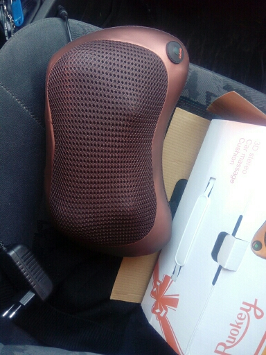 Magic Shiatsu Pillow Massager photo review
