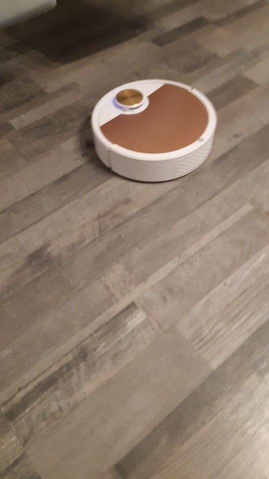 Robô Aspirador de Pó Inteligente Smart Robot - Acionamento via Celular photo review