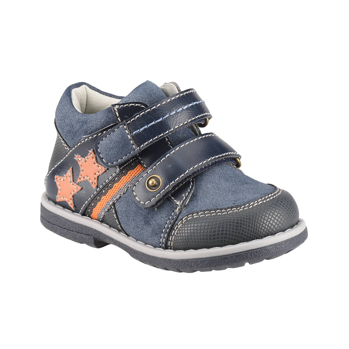 FLO 52.507571.B Navy Blue Male Child Boots Polaris