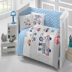 Gemaakt in Turkije STRAAT Baby Baby Wieg Beddengoed Bumper Set Voor Jongen Meisje Nursery Cartoon Dier Babybedje Katoen Zacht antiallergische