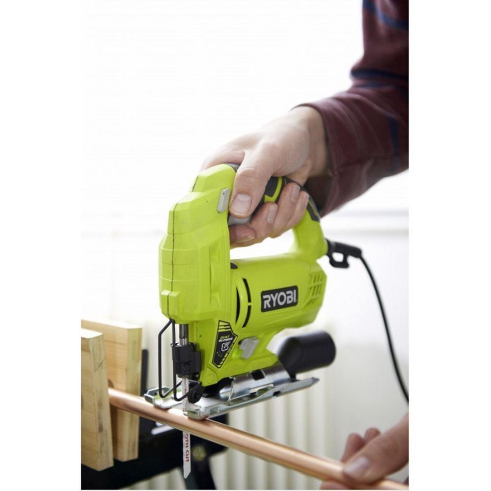 U532b0e8ee08c40fcb945fedc3a763adcu - Ryobi RJS720G 500 Watt Jig Saw. Electric Scroll saw machine. Wired wooden hand saw