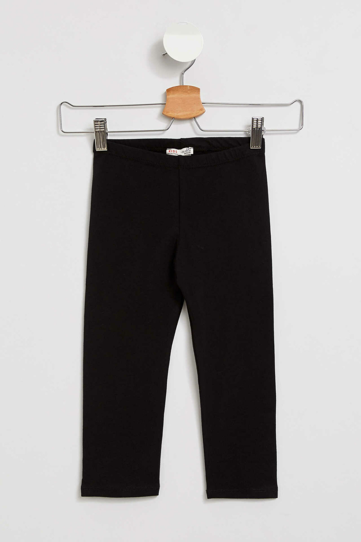 DeFacto Girl Summer Long Pants Kids Black Long Fit Leggings Girls Elastic Legging Pants-J0128A619SM