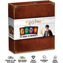 Board-Game Hogwarts Harry Potter Shuffle Play-Cards Cartamundi To Memory-Official-Product