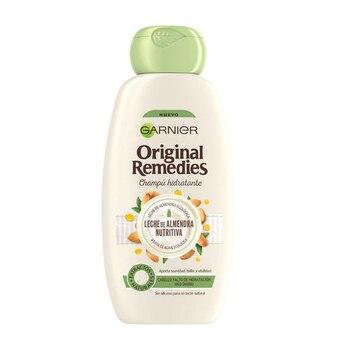 Champú ORIGINAL REMEDIES leche de almendras Garnier (300 ml)
