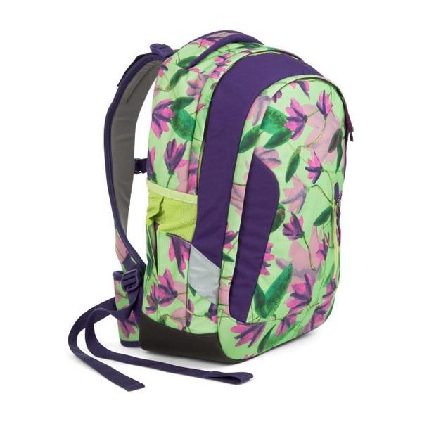 School Bag Eco Ergobag SAT-SLE-001-9H5 Flowers Purple (45 X 15 X 27 Cm)