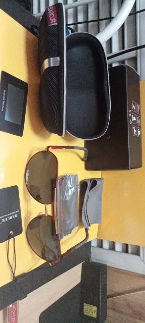 <strong>BARCUR Pilot</strong> - Polarized UV400 Protection Driving Sunglasses For Men photo review