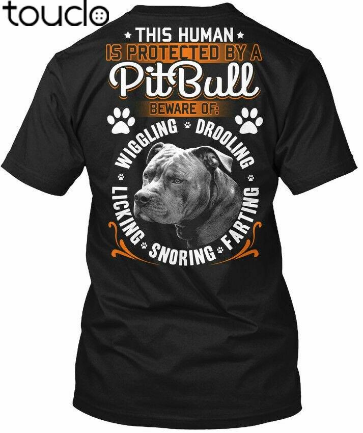 Питбуль любовь-чувствует себя защищенный защитный чехол для телефона футболка, Т-футболка из хлопка