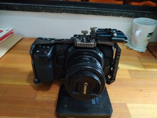 -- Câmera Câmera Gaiola