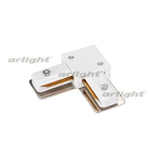 023112 Connector Angular Lgd-2tr-con-l-wh (c) Arlight Box 1-piece