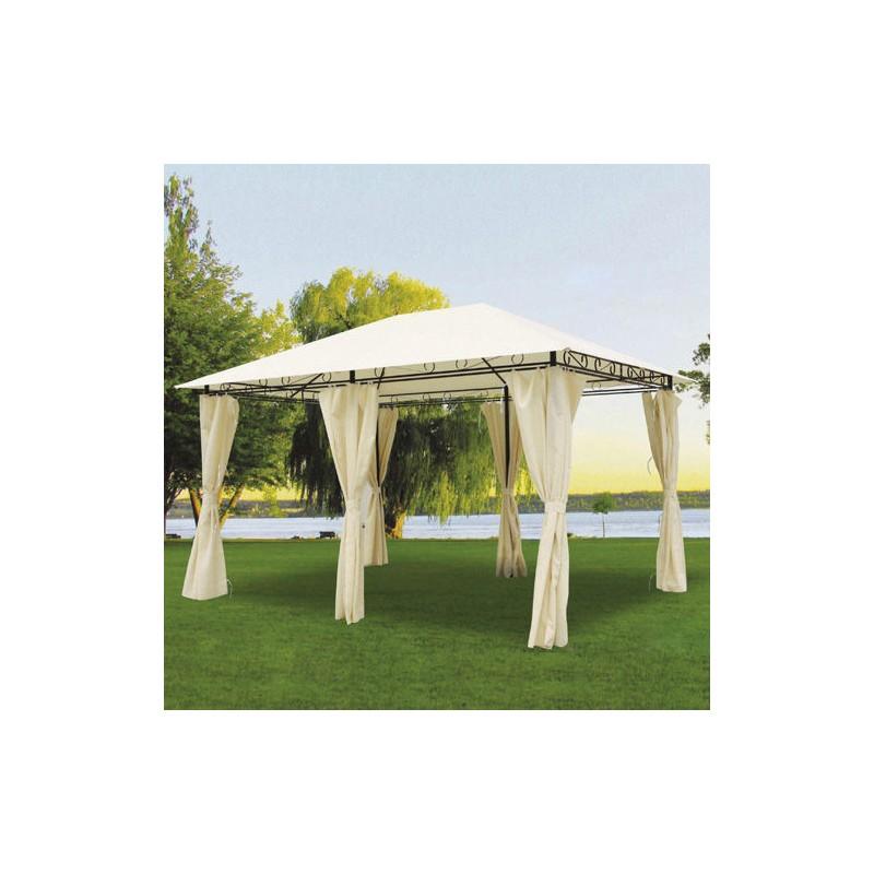 Pergola Papillon 3x4 Meters Sines 6 Curtains|  - title=