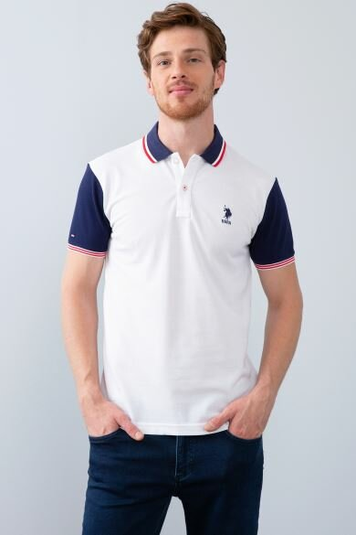 U.S. POLO ASSN. Polo Neck Slim T-Shirt