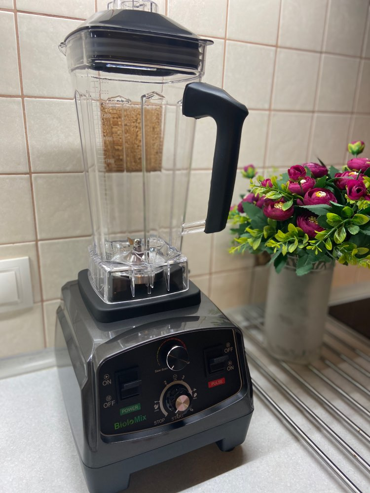 3HP 2200W Heavy Duty Commercial Grade Automatic Timer Blender Mixer Juicer Fruit Food Processor Ice Smoothies BPA Free 2L Jar|Blenders|   - AliExpress