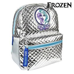Casual Backpack Frozen 72694 Silver