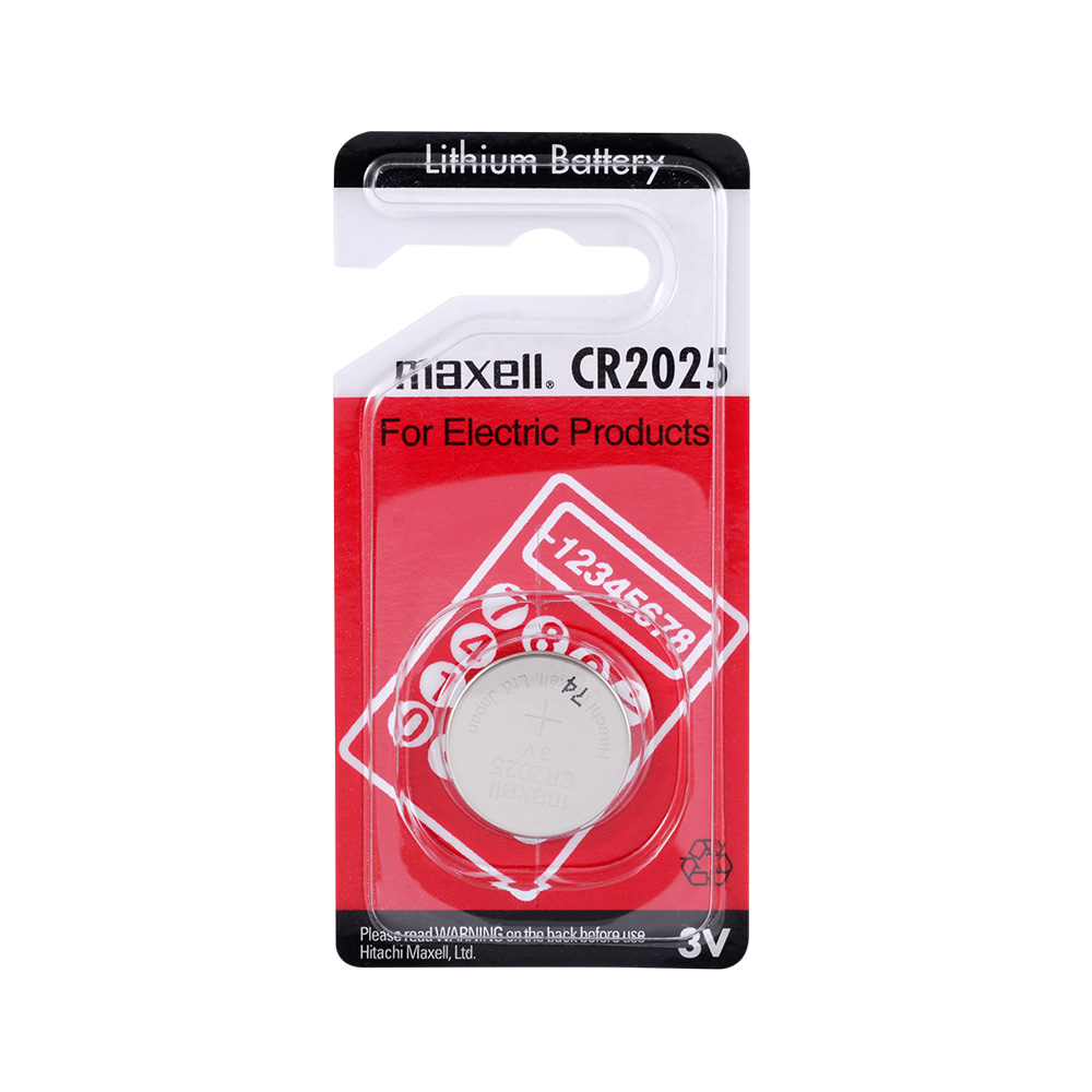 20 PCS Maxell <font><b>CR2025</b></font> 150mAh 3V Lithium Coin Cell <font><b>Battery</b></font> _Single Package_ Made In Japan 12/2029 image