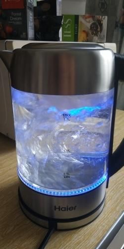 Электрический Чайник Haier HEK-143 с подсветкой (1.7л, стекло)