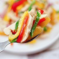 """#美食说出""""新年好""""#柠香彩蔬鸡胸肉的做法图解11"""