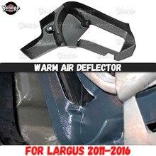 عاكس الهواء الدافئ ل Lada Largus 2011 2016 من نفق للأقدام ABS ملحقات بلاستيكية وحدة التحكم وظيفة اتجاه الهواء التصميم
