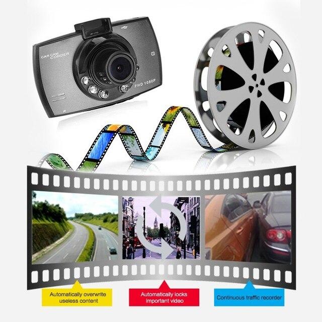G30 Dash Cam Video Recorder 1080P Car DVR  Dashcam Cycle Recording Night Vision Wide Angle Video Registrar 4