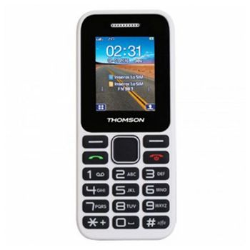 Mobile telephone for older adults Thomson TLINK11WHT White